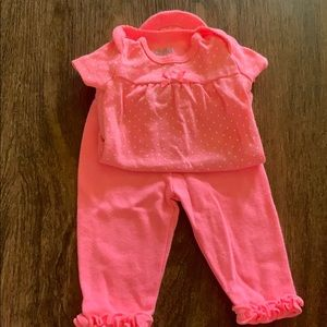 Carters newborn set